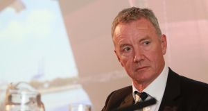 Tullow  chief executive Aidan Heavey. The company's  shares surged as much as 13.3% in London. Photograph: Nick Bradshaw