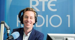 RTÉ presenter Ryan Tubridy: given how his week has started, he can perhaps be excused for his curmudgeonly mood
