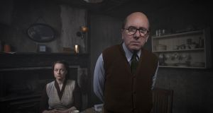 Deadly digs: Ethel Christie (Samantha Morton), John Christie (Tim Roth) in Rillington Place