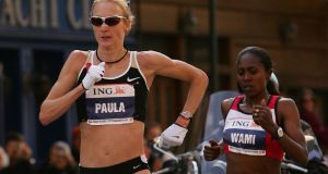 Paula Radcliffe: despite being diagnosed with asthma at the age of 14, Radcliffe holds the current women's marathon world record of 2:15:25, which she set  at the 2003 London Marathon. Photograph:  Chris McGrath, Getty Images