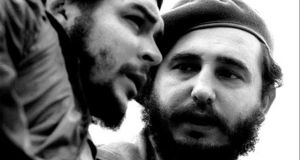 Fidel Castro with Che Guevara. in the early days of the Cuban Revolution. The Cuban leadership, for all its doctrinaire and embattled postures, does not reflect the corruption and greed of a Batista, a Mobutu, a Marcos, or any more contemporary tyrant. Photograph: Roberto Salas/AFP