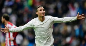 Sending revenues to Ireland would allow Ronaldo to pay 12.5% on profits, as opposed to 43.5% in Spain. Photograph: AFP