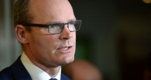 Minister for Housing Simon Coveney is among the  Ministers who are opposed to paying back the money to those who complied with the law. Photograph:   Dara Mac Dónaill