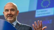 "European commissioner for economic and financial affairs Pierre Moscovici: new VAT plan   involves ""less time wasted, less red tape and fewer costs"". Photograph: Stephanie Lecocq"