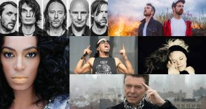 Radiohead, All Tvvins, Solange, Anderson .Paak, Wallis Bird, David Bowie