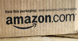 Amazon said exports from UK businesses on its marketplace website were on track to increase nearly 30 per cent this year to £1.8 billion. Photograph: Rick Wilking/Reuters