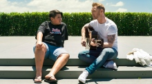 Ronan Keating stars in viral Air New Zealand Christmas video