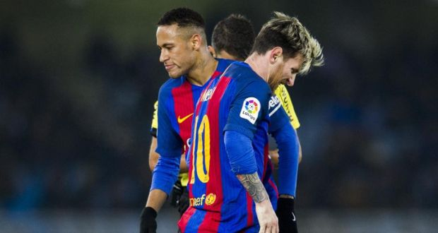 d92cb3f61 Lionel Messi and Neymar Jr  they have become part of the problem at  Barcelona.