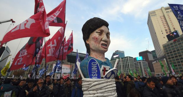 S Korean opposition to push for Park Geun-hye impeachment