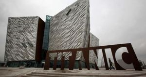 The Titanic Belfast museum has staved off competition from Ferrari World in Abu Dhabi, the Las Vegas Strip and Peru's Machu Picchu to clinch the accolade at an awards ceremony in the Maldives. File photograph: Getty Images