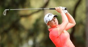 Stephanie Meadow slipped back down the leaderboard in her quest to win a tour card at the LPGA Qualifying School in Florida. Photo: Inpho