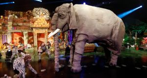 The opening sequence of the Jungle Book-themed Late Late Toy Show.  Photograph: Andres Poveda