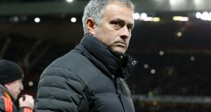Manchester United manager José Mourinho says he has revised his timescale on capturing a first title at the club. Photo: Martin Rickett/PA Wire