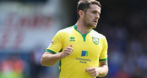 Robbie Brady scored his third goal of the season for Norwich on Saturday. Photograph: Getty Images