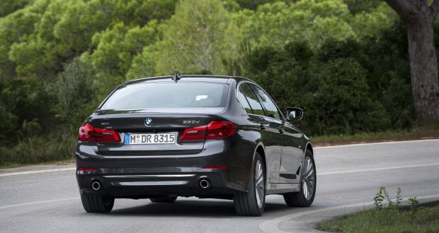 The New BMW 5 Series: The Handling And Cornering Defies The Laws Of Physics