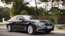 The new BMW 5-Series: even fans will have to look twice to spot the difference.