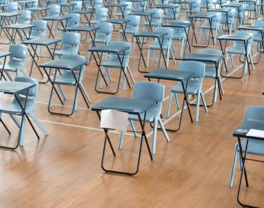 For a school where the numbers taking the Leaving Cert remain relatively constant, we can deduct 22 per cent from their published progression rate to calculate the true progression rate of the 2016 class. Photograph: iStockphoto/Getty Images