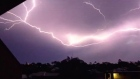 Brisbane hit by spectacular storms
