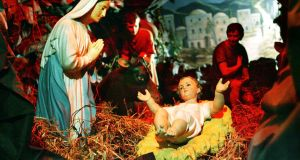 Gardaí in Tralee are investigating an act of criminal damage to the town's Christmas crib. File image: Cyril Byrne