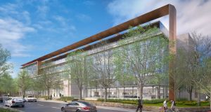 Vertium building on Burlington Road: let to Amazon