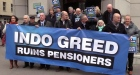 Independent News and Media staff protest over pension cuts of 70%