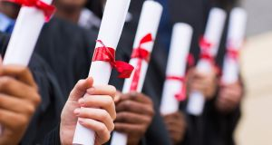 Of the top 20 schools that send the majority of their students to higher-points courses, 16 are fee-paying private schools. Photograph: iStock