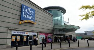 Liffey Valley: the  reported €600 to €640 million sale of the shopping centre is scheduled to close before year end. Photograph: Eric Luke