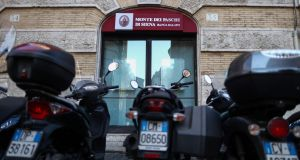 A Banca Monte dei Paschi di Siena branch: the bank could struggle to recapitalise