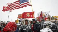 Protest leader claims 'mission accomplished' at North Dakota pipeline