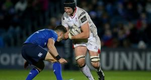 Ulster lock Dan Tuohy is to join Bristol. Photograph: Inpho/Billy Stickland