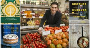 Donal Skehan, centre, whose latest offering Eat. Live. Go. Fresh Food Fast is highly recommended, along with four more of our suggestions for Christmas gifts.
