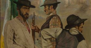 "Seán Keating's ""Men of the West"" Courtesy of the  Hugh Lane Gallery."