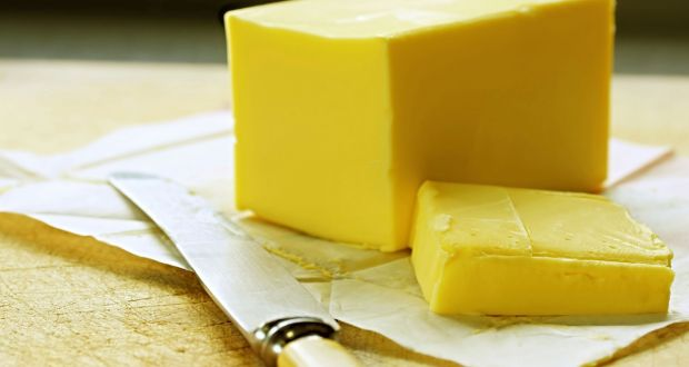 d03ebc381 Butter: no reference to it in new healthy eating food pyramid. Photograph:  Getty