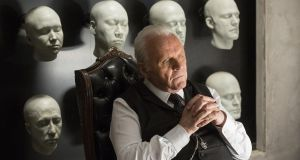 Anthony Hopkins plays Dr Robert Ford with his  customary silken menace in Westworld