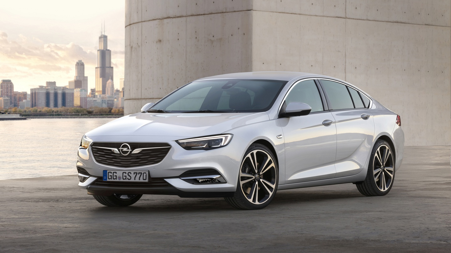 Opel reveals first images of its new insignia grand sport fandeluxe Image collections