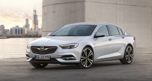 The new Opel Insignia Grand Sport offers motorists a more engaging drive and ample headroom