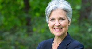 US Green Party leader and recent presidential candidate Jill Stein: Cynics ignore reasons why her effort is important. Photograph: Lisa Abitbol /EPA