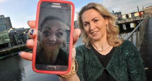Natasha Lynch in Cork: the French-language teacher used social media to teach students online during the recent school strikes. Photograph: Daragh McSweeney/Provision