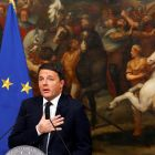 Italian prime minister Matteo Renzi: was a committed European and  powerful voice against the austerity promulgated by Berlin and Brussels.  Photograph: Alessandro Bianchi