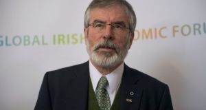 "Gerry Adams: ""Today I make this statement in the Dáil following an email that I wrote to the Garda Commissioner."""