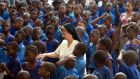 Sr Mary Dolores Sweeney runs St Joseph's School for the Hearing Impaired in Makeni, Sierra Leone. This week she received a Presidential Distinguished Service Award from President Michael D Higgins.