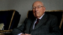 Former Governor of the Central Bank TK Whitaker turns 100