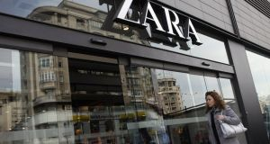 Zara Financien did not pay corporate tax in Ireland, despite having a net income of €53.9 million in the 2011-2014 period, claims European Green Party/EFA  report. Photograph: Sean Gallup/Getty Images