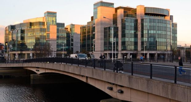 The IFSC: Minister for Finance Michael Noonan admitted the Central Bank is struggling to compete with the private sector for the talent it needs and cannot put a timeline on how long it will take to deal with complex licence applications. Photograph: Dave Meehan