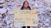 Bana, the Aleppo girl who garnered worldwide attention