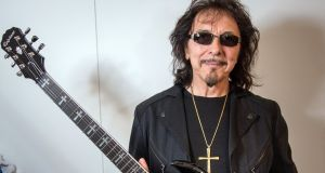 "Tony Iommi: ""You automatically wind yourself up saying, ""that's it then"", but that is not always the case."" (Photo by Thomas Lohnes/Getty Images for Gibson)"