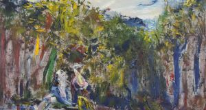Glory To The Brave Singer by Jack B Yeats, estimated at €250,000-€350,000, failed to reach its undisclosed reserve price and was unsold at Adam's on Wednesday