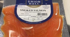 Union Hall Smoked Salmon: pretty intense smokiness and a very moreish quality.