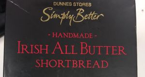 Irish All Butter Shortbread from Dunnes Stores