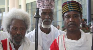 """Oromo culture views advanced age with great respect: the """"Gadaa system"""", a form of Oromo traditional government, is based on an age grade system, with leadership being attained by passing through numerous age-related grades. Photograph: James Jeffrey"""